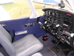 New interior trim panels to the Piper Warrior